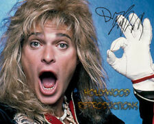 REPRINT - DAVID LEE ROTH ~ Autographed signed photo