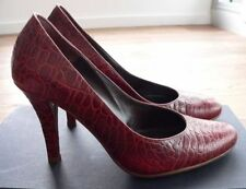 Leather Pump, Classic Slim Casual Heels for Women