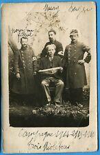 CPA PHOTO: Trois poilus  / Guerre 14-18 / 1915