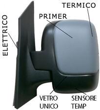 PIASTRA SPECCHIO RETROVISORE C//VETRO SX TERM A 1 VETRO FIAT SCUDO 07/>