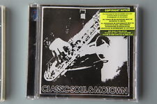 Classic Soul & Motown  DWCD 0371  - Music Library CD  (REF TS)
