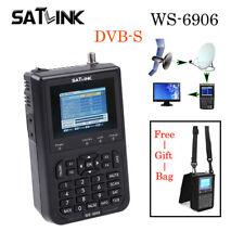 Original FTA Satlink WS-6906 Digital Satellite Finder DVB-S Satellite Meter LCD