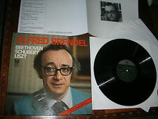 5LP BOX M-/nm  Alfred BRENDEL (PIANO ) BEETHOVEN - SCHUBERT - LISZT  VINYL SET