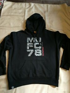 Manchester united Hoodie size M, Black mens