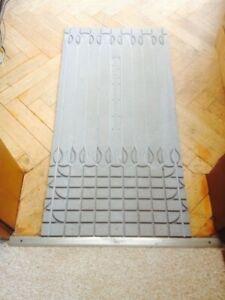 19,44 qm Direktheizung Fußbodenheizung Trockenbau nur 10 mm hoch - EDITION 2020