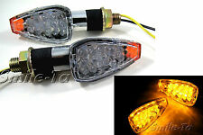 4 x Custom Micro Small Tiny LED Indicators Turn Signals - Motorcycle Motorbike *