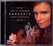Julia Fischer SIGNED Sarasate zingari presentano Spanish Dance serenata Andaluza CD