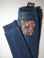NWT LADY ENYCE Women's 34 x 32 Jeans NYC Designer Pattern Pocket RN96312