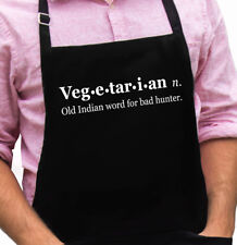 Vegetarian Funny Novelty Apron Gift for Dad, Husband, Fathers Day