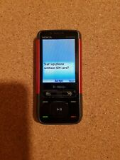 Nokia  XpressMusic 5610- Rot (T-Mobile) Handy