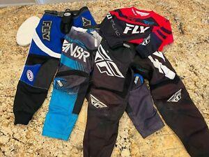 FLY & Answer Racing BMX Pant & Jersey Lot, Size: 26 & Medium, Kinetic ANSR F-16
