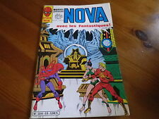 NOVA n° 55 de 1982 SPIDER MAN - SPIDER WOMAN - LES FANTASTIQUES TBE comme neuf.