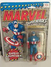 Marvel Superheroes Captain America w/Shield Launcher ToyBiz 1990