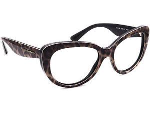 Dolce & Gabbana Eyeglasses DG 4189 1995 Leopard Cat Eye Frame Italy 54[]17 140