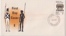 Stamp Australia 5c Building Society Erskine Stamp Service cachet Fdc Forster