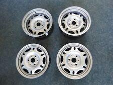 4 Mefro-Stahlfelgen für Smart 450 4 x 15/5,5 x 12 Zoll ET 27/-1 3 x 112