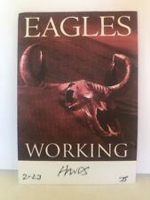 Eagles Backstage Pass collectible item local working crew New unpeeled