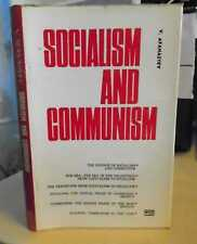 Afanasyev: Socialism & Communism 1972 Soviet USSR Politics Philosophy 1st Ed. HB