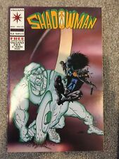 Shadowman #25 Complete With Card Valiant Comics VF 1994