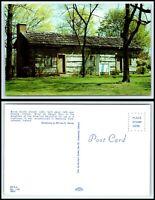 INDIANA Postcard - Lebanon, Boone County Pioneer Cabin Built 1840 G8