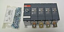 ABB OT250E04 Switch Disconnector 250 Amp 4 Poles (Handle &Shaft Sold Separately)