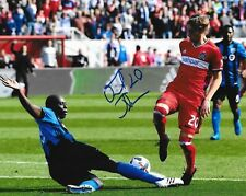 Daniel Johnson signed Chicago Fire MLS Soccer 8x10 photo autographed 3