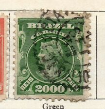 Brazil 1906 Early Issue Fine Used 2000r. 097231