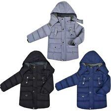 Abbigliamento casual nero in inverno per bambini dai 2 ai 16 anni