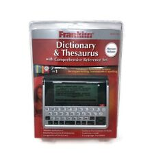 Franklin Mwd-1490 Merriam Webster Pocket Dictionary Thesaurus Sealed New