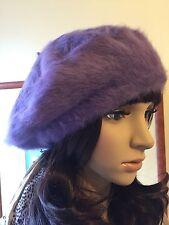 New Christmas Winter Angora Wool Elegant Beret Beanie Parisian Hat Lili & Poppy