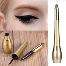 Waterproof Eyeliner Liquid +Eye Liner Pencil Pen Make Up Cosmetics Gold Gift New