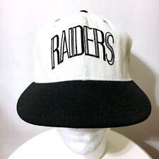 VTG TEAM NFL LOS ANGELES LA RAIDERS FITTED HAT CAP 6 3 4 Oakland Double Logo