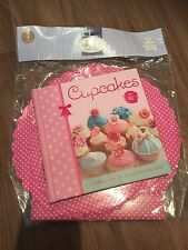 Recipe Book: Cupcakes & New Pink Polka Dot Cake Stand RRP £19.99