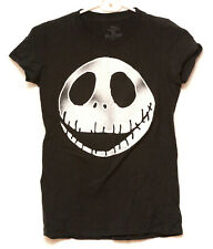 Disney Nightmare Before Christmas Jack Skellington Head T Shirt Sz Xs
