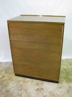 Ed Wormley for Dunbar Mahogany Chest With 7 Graduated Drawers; Near Mint