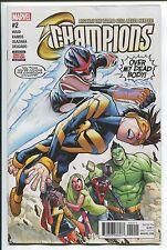 CHAMPIONS #2 - HUMBERTO RAMOS ART & COVER - MARVEL COMICS/2016
