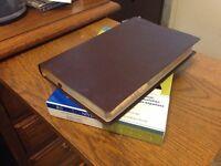Leather - 1984 NIV Thinline Bible SMYTH SEWN New international Version