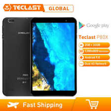 Teclast P80X Android 9.0 PC Tablet Ebook 8''IPS 4G LTE SIM Móvil 32GB Octa Core