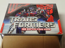 Transformers 3D Battle-Card Game factory sealed Booster Box!  30 packs!