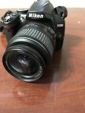 Nikon D3000 DSLR 10.2mp Camera with Nikon DX Lens c-x