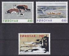 Faroe Is. 1996 Paintings by Janus Kamban Set UM SG315.7 Cat £5.90