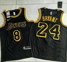 Los Angeles Lakers Kobe Bryant Black Mamba City Edition Swingman Jersey Size M