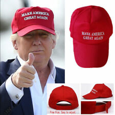 Make America Great Again Hat Donald Trump 2016 Republican Adjustable Red Cap T7
