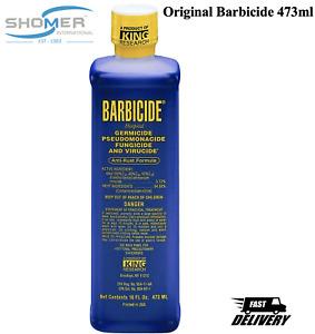 Barbicide Disinfectant Concentrate Solution GERMICIDAL Anti Rust Formula 473mL
