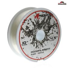 Monofilament Fishing Line 10lbs 600yds Clear ~ New