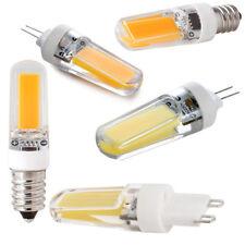 Dimmable G4 G9 E12 E14 3W Crystal LED Corn Bulb COB Light Replace Halogen Lamp