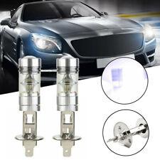 2pcs H1 100W 2828 LED Car DRL Fog Light Headlight Lamp Bulb Super Bright 12V RS