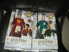 Mattel Harry Potter Dolls (2)  - Harry and Malfire Quidditch  MIB