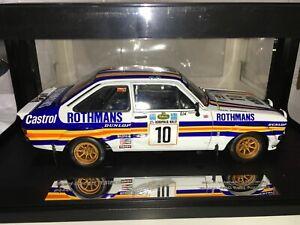 1:18 Sunstar Ari Vatanen Ford Escort MkII RS1800 Winner Acropolis Rally 1980