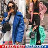 Ladies Teddy Fleece Fur Jacket Outerwear Tops Winter Warm Fluffy Coat Women's US